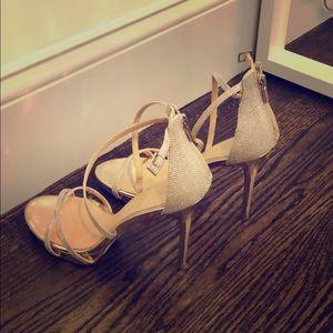 Badgley Mischka Strap Heels